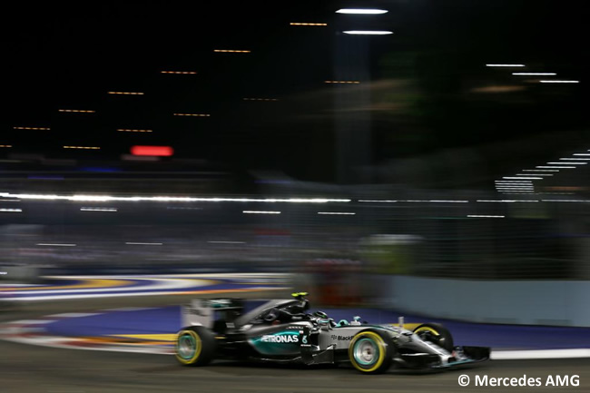 Nico Rosberg - Mercedes - Singapur 2015