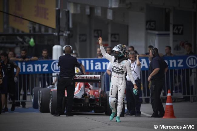 Nico Rosberg - Mercedes - Gran Premio de Japón
