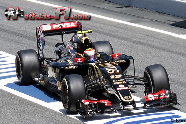 Pastor Maldonado - Lotus 2015 - www.noticias-f1.com