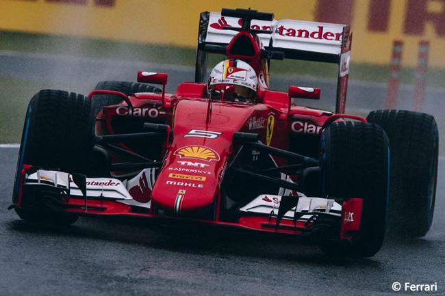 Sebastian Vettel - Scuderia Ferrari - Gran Premio de Japón 2015