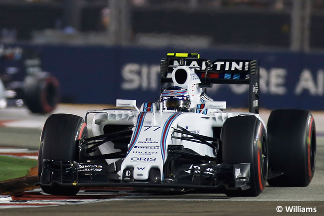 Valtteri Bottas - Williams - Singapur 2015