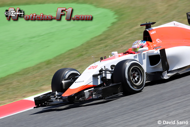 Will Stevens - Manor 2015 - David Sarró - www.noticias-f1.com