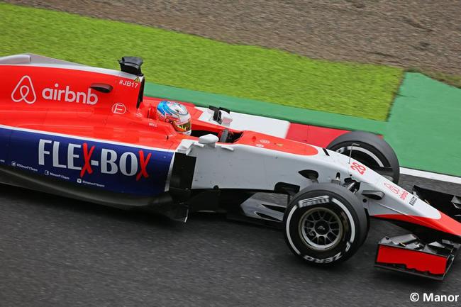 Will Stevens - Manor - Gran Premio de Japón 2015