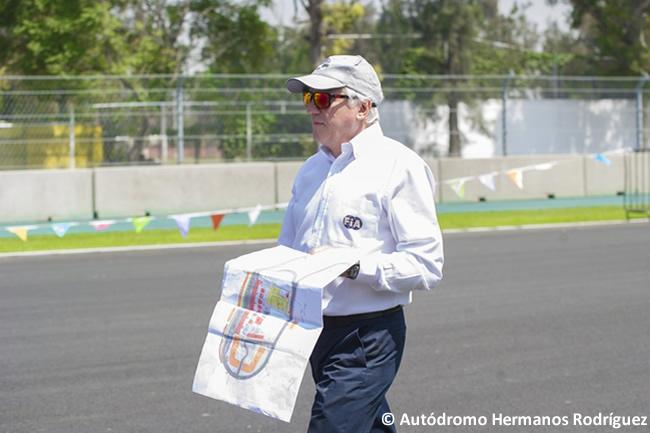 FIA Charlie Whiting - Autódromo Hermanos Rodríguez