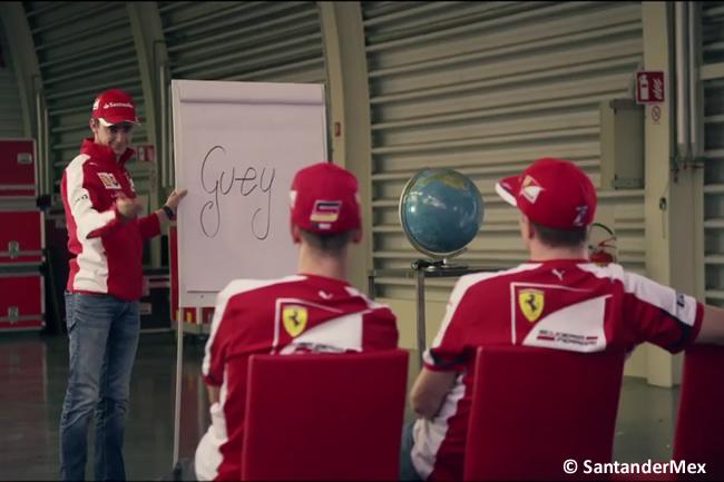Esteban Gutiérrez - Kimi Raikkonen - Sebastian Vettel - Scuderia Ferrari