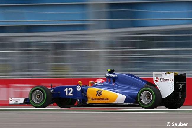 Felipe Nasr - Sauber 2015