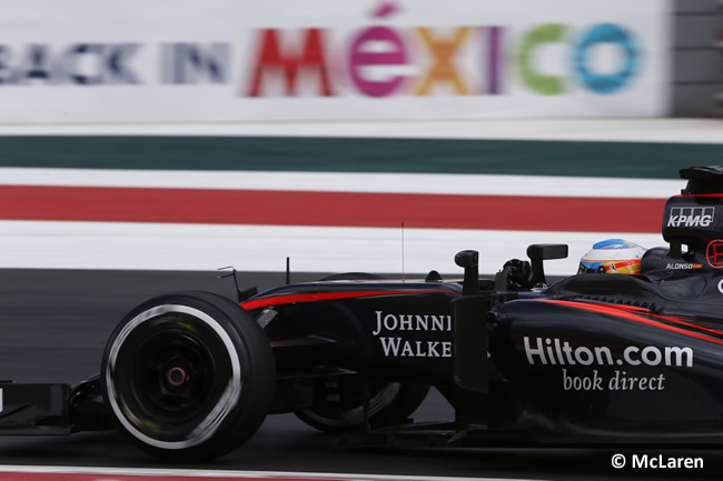 Fernando Alonso - McLaren 2015 - Gran Premio de México