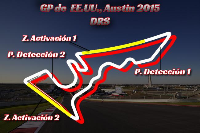 Gran Premio de Estados Unidos, Austin 2015 - DRS
