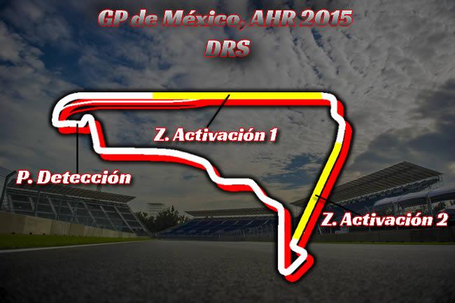 Gran Premio de México - AHR - DRS 2015