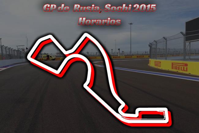 Horarios Gran Premio de Rusia 2015