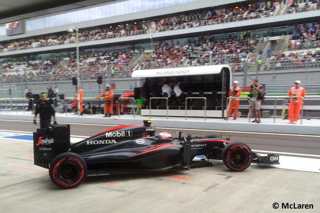 Jenson Button - McLaren 2015