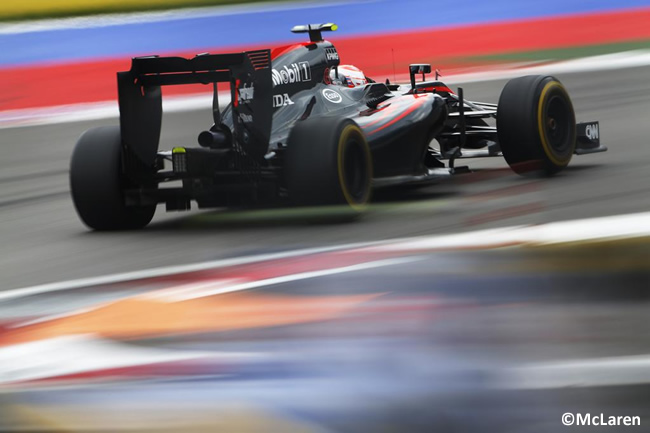 Jenson Button - McLaren Honda 2015