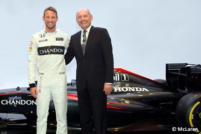 Jenson Button - Ron Dennis - McLaren 2014-2016 - Renovación