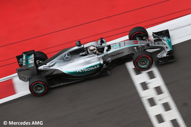 Lewis Hamilton - Mercedes AMG 2015