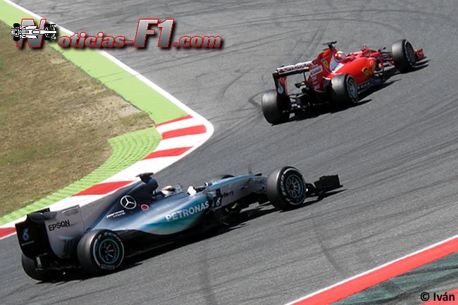 Lewis Hamilton - Sebastian Vettel - 2015
