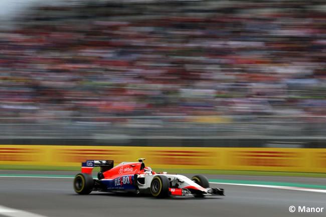 Gran Premio de México 2015 - Manor - Viernes