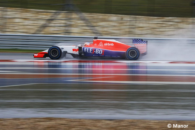 Manor GP Estados Unidos 2015