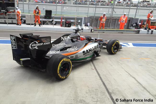 NIco Hulkenberg - Force India 2015