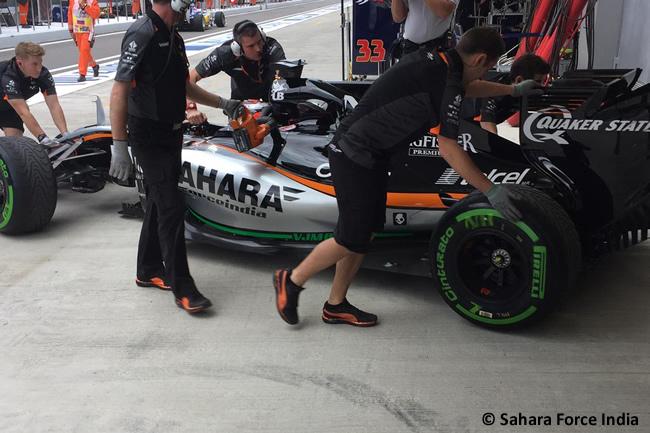 Nico Hulkenberg - Sahara Force India 2015