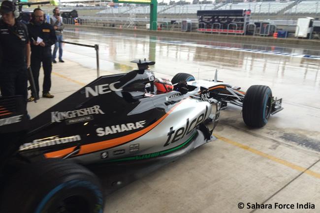 Nico Hulkenberg - Force India - Gran Premio de Estados Unidos 2015