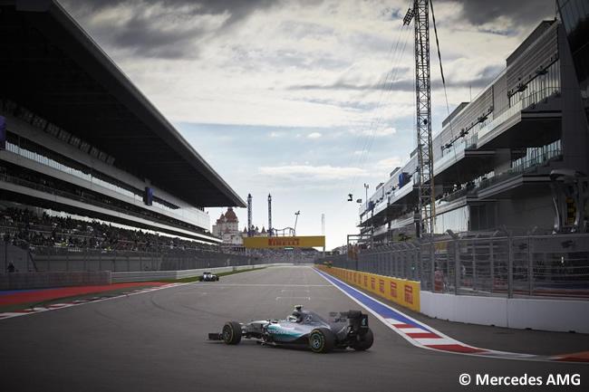 Nico Rosberg - Mercedes 2015