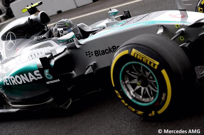 Nico Rosberg - Mercede 2015 - Gran Premio de México