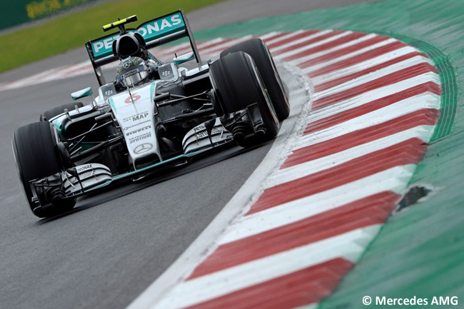 Nico Rosberg - Mercedes - Pole - Gran Premio de México 2015