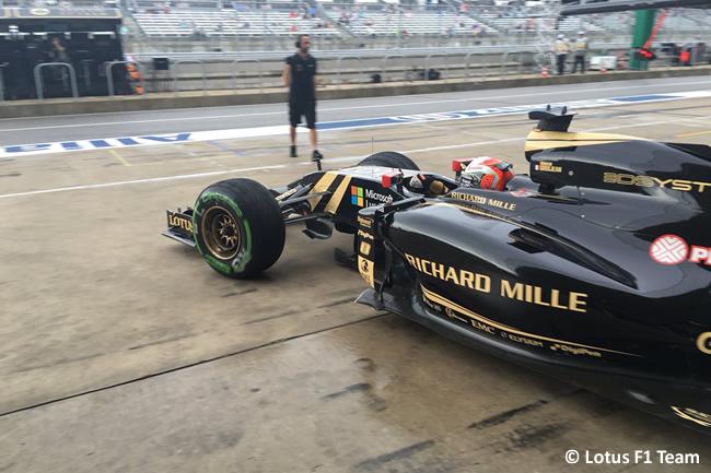 Romain Grosjean - Lotus