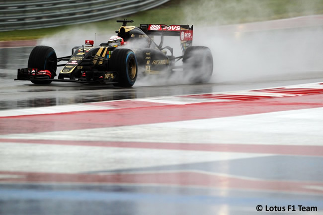 Romain Grosjean - Lotus F1 Team - Gran Premio de Estados Unidos 2015
