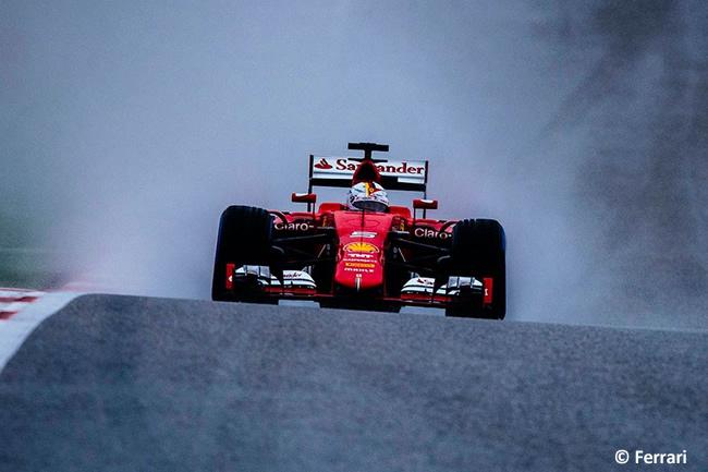 Sebastian Vettel - Scuderia Ferrari - Gran Premio de Estados Unidos 2015
