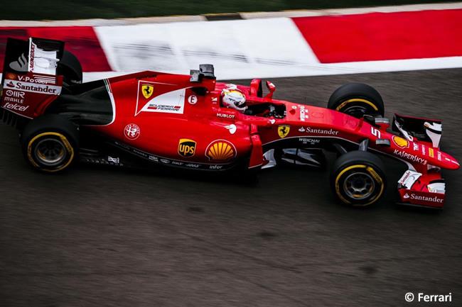 Sebastian Vettel - Scuderia Ferrari 2015