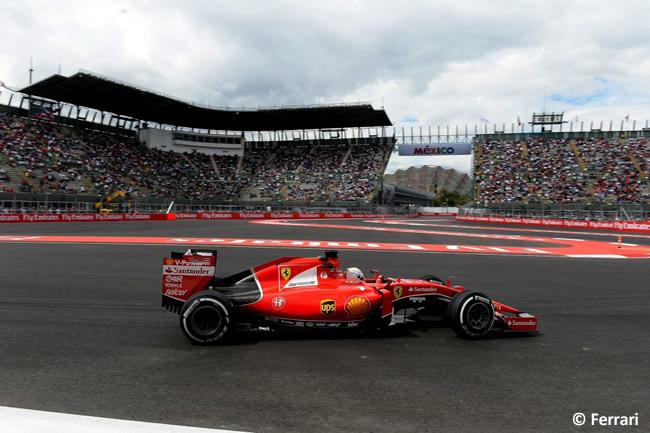 Sebastian Vettel - Scuderia Ferrari - Gran Premio de México 2015