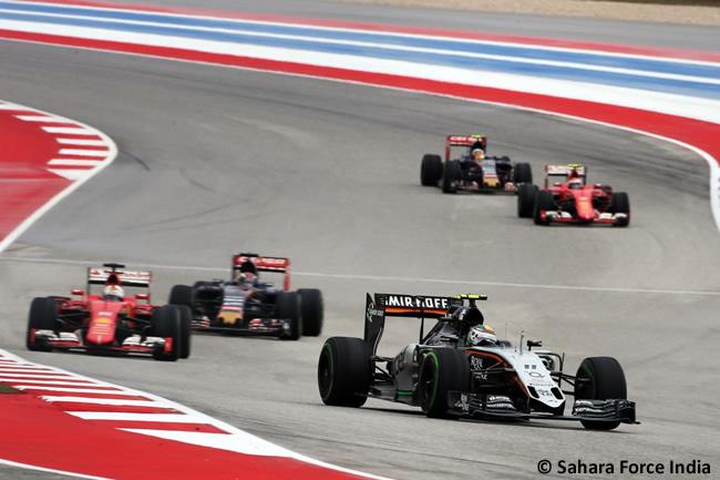 Sergio Pérez - Sahara Force India