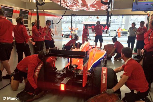 Will Stevens - Manor 2015 - Gran Premio de Rusia