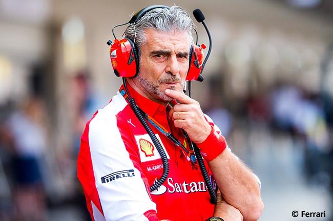 Maurizio Arrivabene Scuderia Ferrari