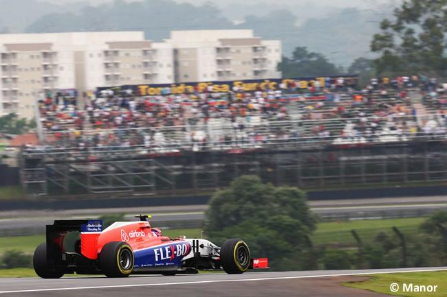 Alexander Rossi - Manor 2015 - Gran Premio de Brasil 2015