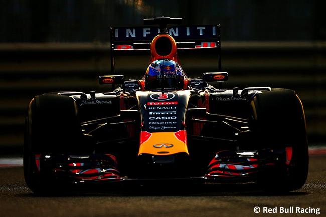Daniel Ricciardo - Red Bull Racing - GP Abu Dhabi 2015