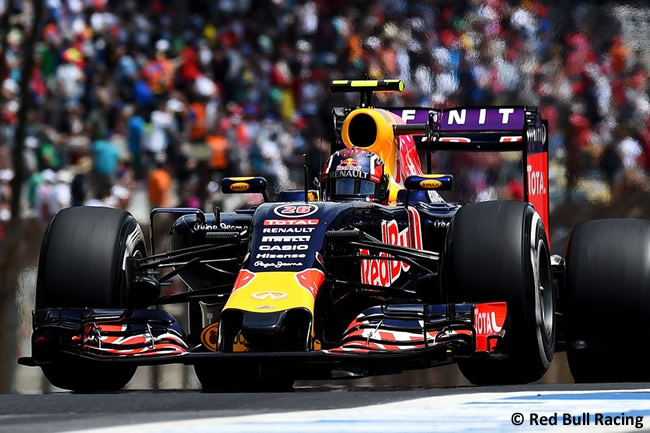 Daniil Kvyat - Red Bull Racing - Gran Premio de Brasil 2015