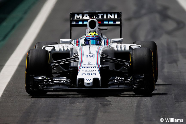 Felipe Massa - Williams - Gran Premio de eBrasil 2015