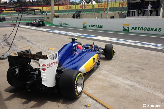 Felipe Nasr - Sauber - Gran Premio de Brasil 2015