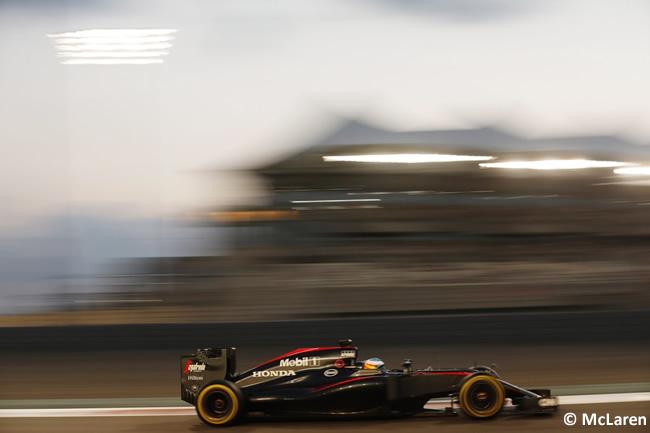 Fernando Alonso - McLaren - GP Abu Dhabi 2015