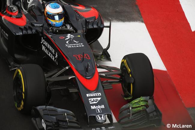 Fernando Alonso - McLaren - Gran Premio de México 2015