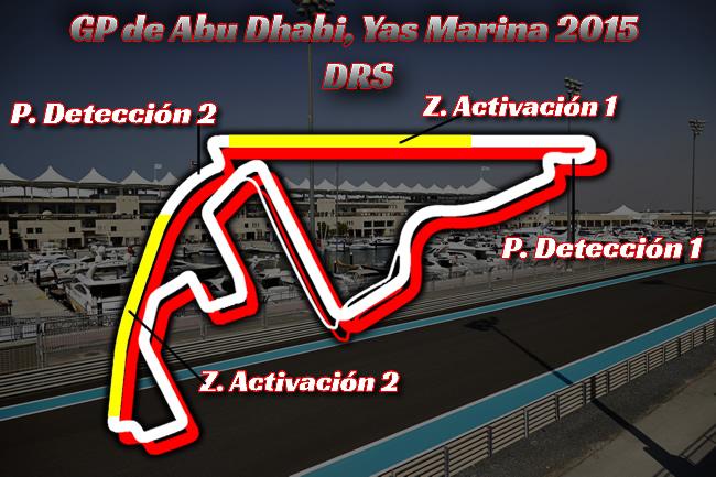 Gran Premio de Abu Dhabi - Yas Marina 2015 - DRS