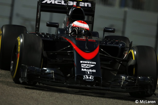 Jenson Button - GP Abu Dhabi 2015
