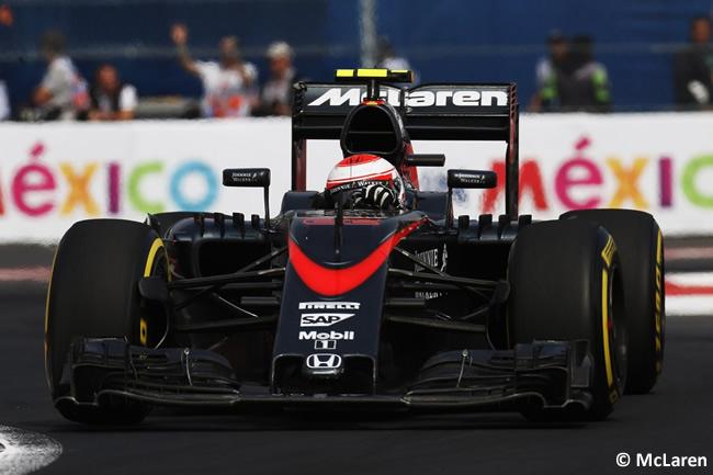 Jenson Button - McLaren - Gran Premio México 2015