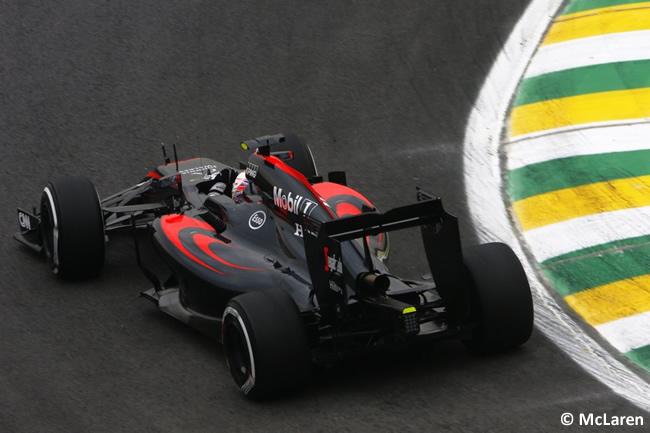 Jenson Button - McLaren - Gran Premio de Brasil 2015