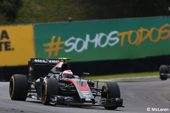 Jenson Button - McLaren 2015 - Gran Premio de Brasil