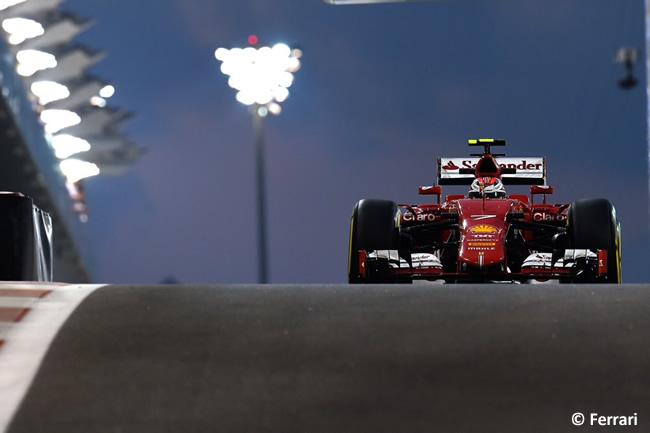 Kimi Raikkonen - Scuderia Ferrari - GP Abu Dhabi 2015