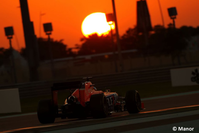 Manor - GP Abu Dhabi 2015