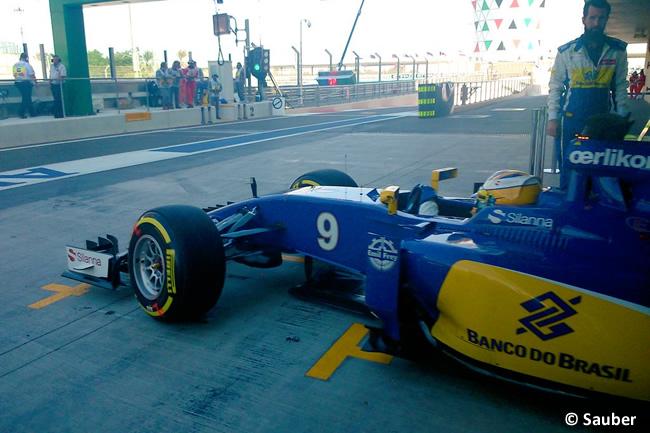 Marcus Ericsson - Sauber - GP Abu Dhabi 2015
